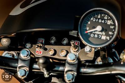 Honda CM 400 Custom Tracker