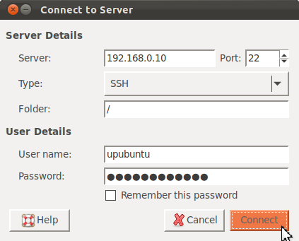 Copy a file back to local system with ssh - Unix Linux