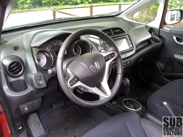 2012 Honda Fit Sport with Navi interior