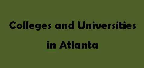Colleges and Universities in Atlanta