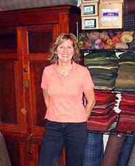 Portrait Photo of American Craftsmen Show Fiber Artist Karen Worthington