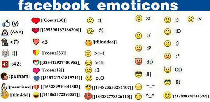 Nuove faccine di facebook - new emoticons facebook
