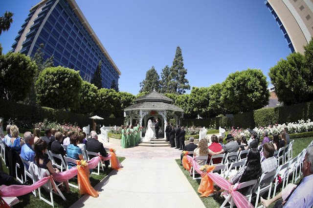 Spotlight on a Disneyland Wedding