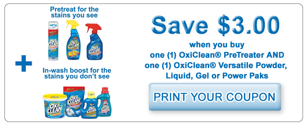 Oxiclean coupons 2018