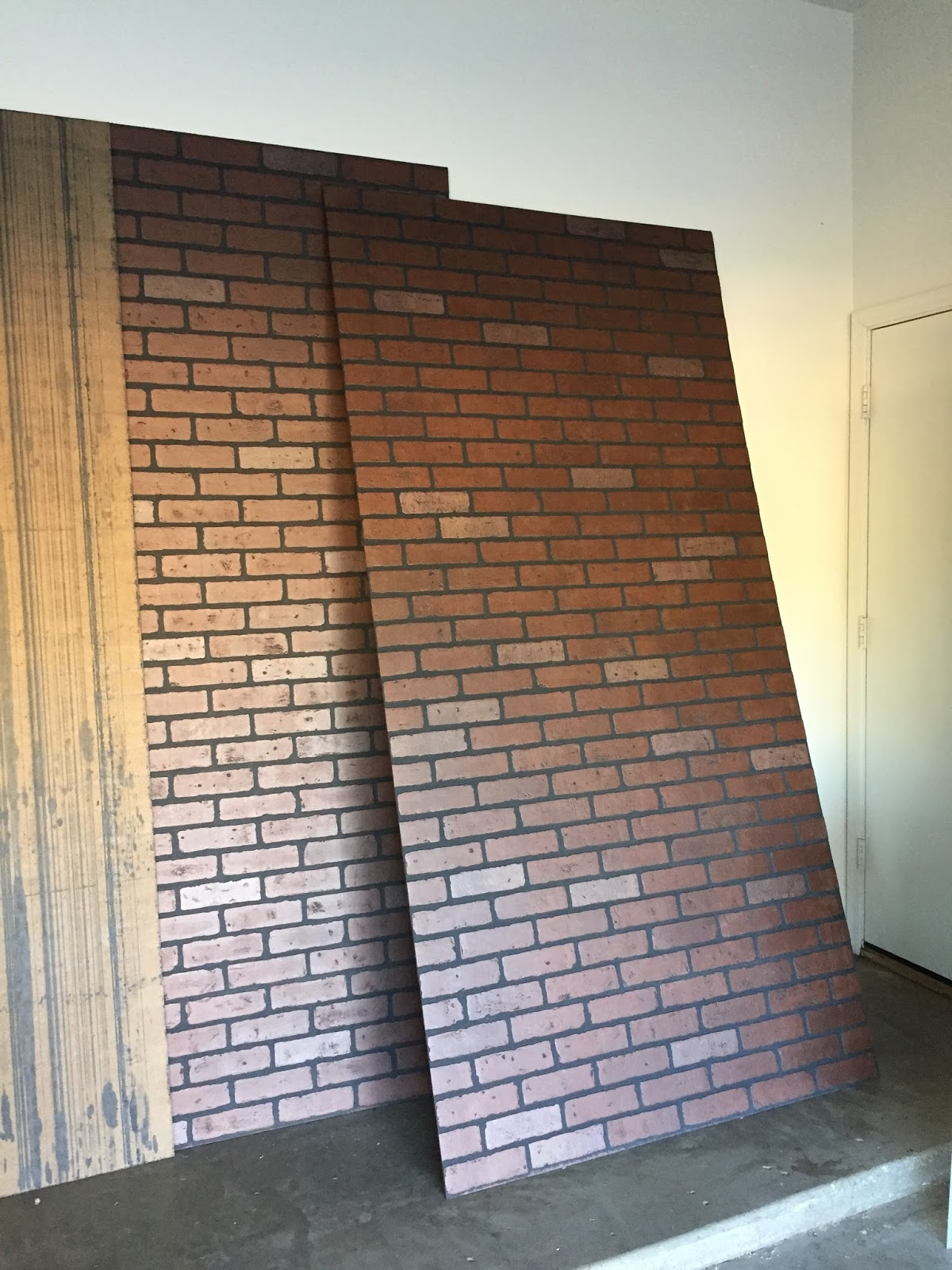 Nice DIY Faux Brick