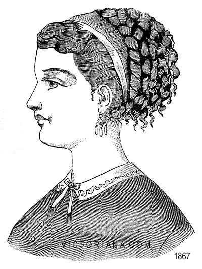 Hairstyles Victorian Era : Victorian Hairstyles