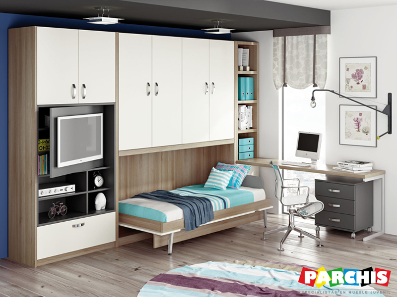 Parchis Mueble Juvenil e Infantil IDEAS PARA DECORAR UN DORMITORIO
