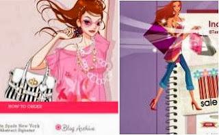 шаблоны blogger женские шопинг