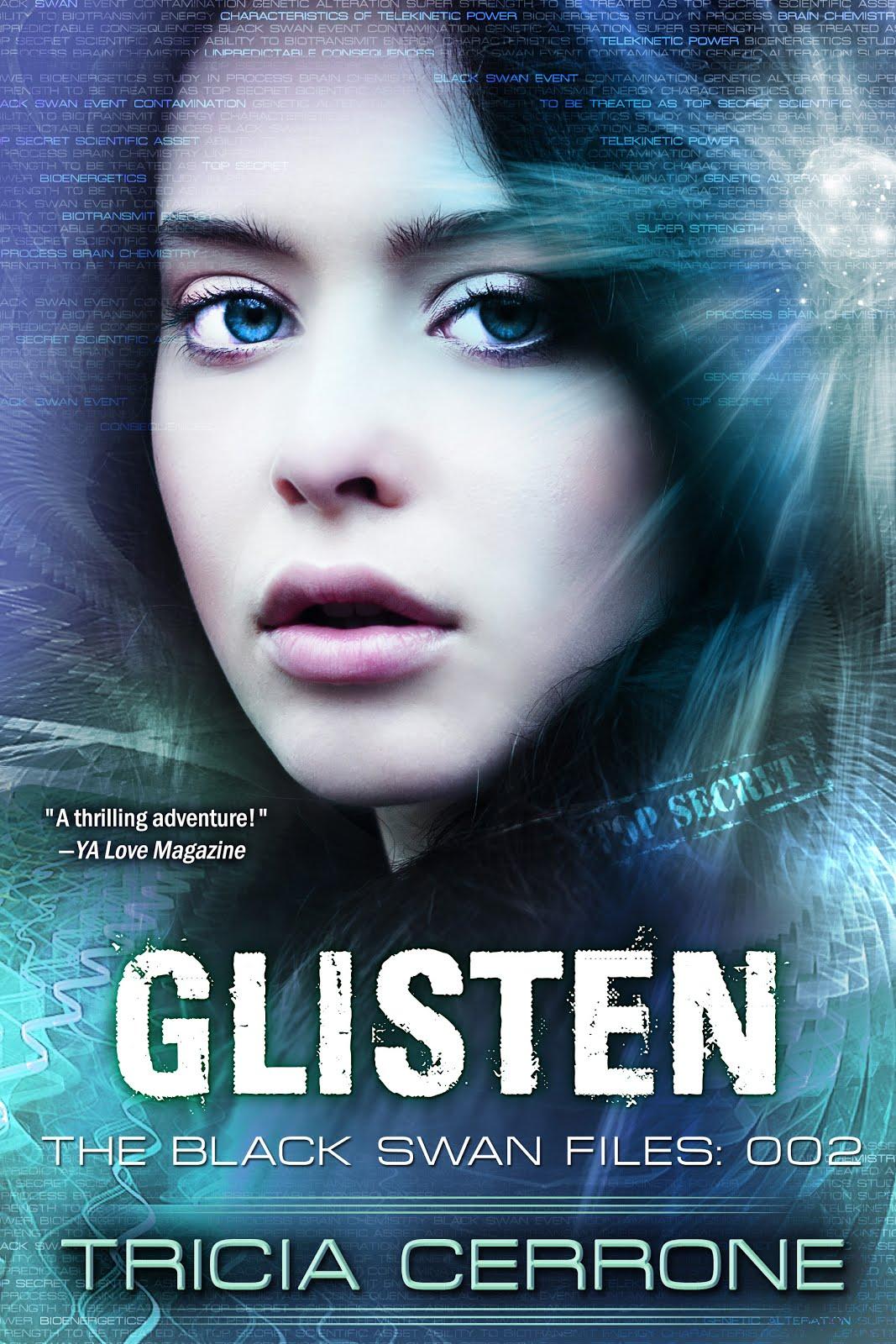 Review: Glisten: The Black Swan Files 002 By Tricia Cerrone
