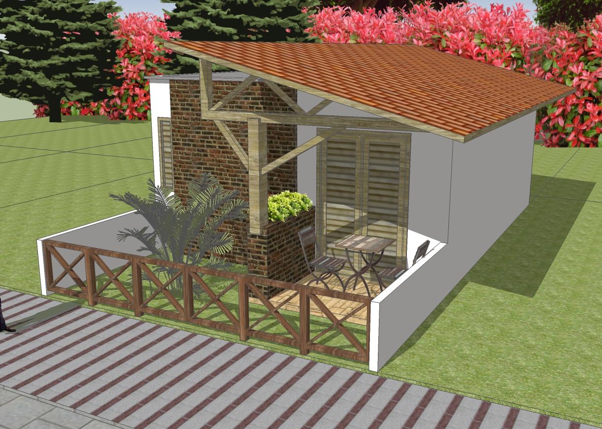 01 quarto 36m2 10 x r 7 90 clique projetos for Casa moderna de 7 00m x 15 00m