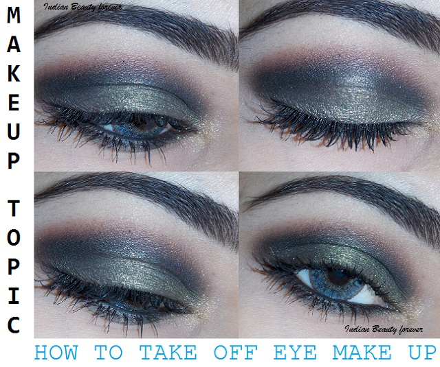 How To Remove Eye Makeup Easily Makeup Topic Indian Beauty Forever