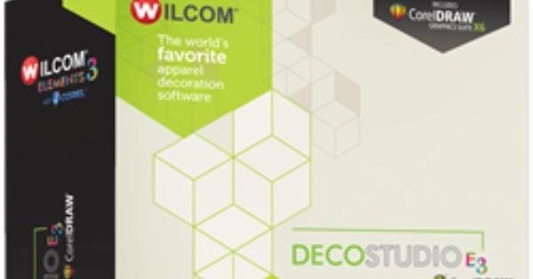 wilcom decostudio e3 with embroidery software crack + keygen