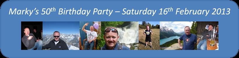Marky's 50th Birthday Party