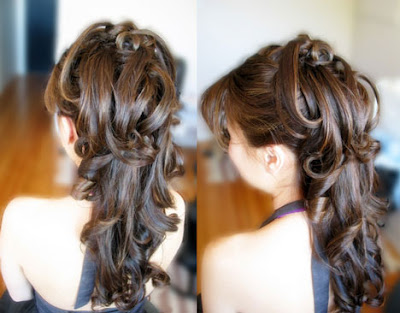 Long Hair Styles  Weddings on Wedding Hairstyles For Long Hair 2012