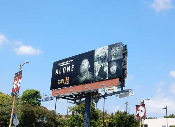 Alone season 1 billboard