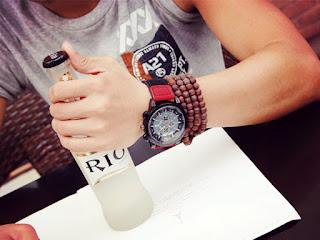 Jam tangan cowok korea murah