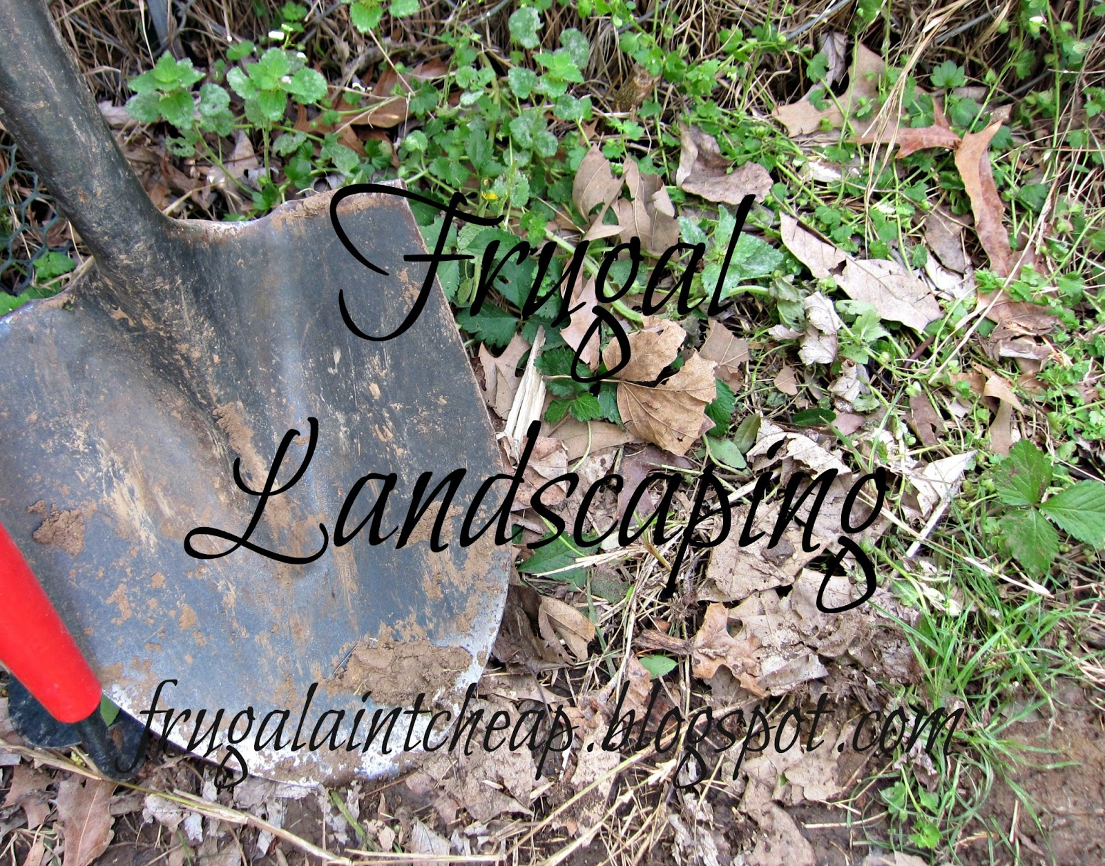 Cheap Landscaping Materials frugal ain't cheap: landscaping the frugal way