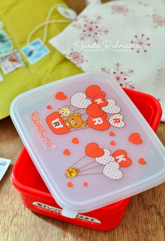 snowy night bento, sleepy rilakkuma bento & my blog is a finalist of blog competition by sekar magazine :d