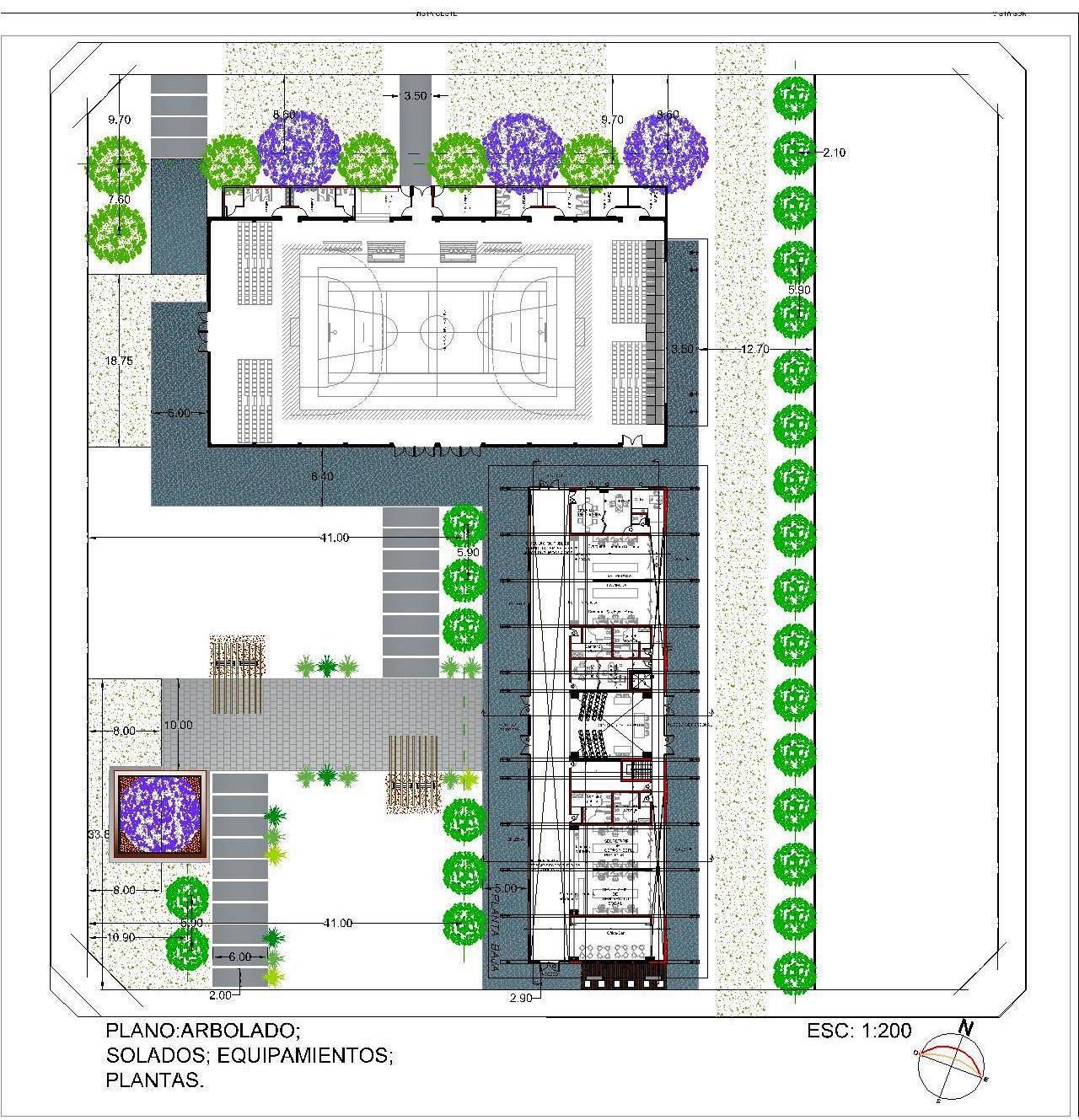C tedra de planeamiento nuevo edificio municipal y sal n for Salon de usos multiples programa arquitectonico