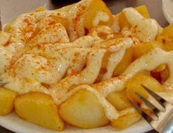 patatas bravas patatas bravas roasted patatas bravas y aioli patatas ...