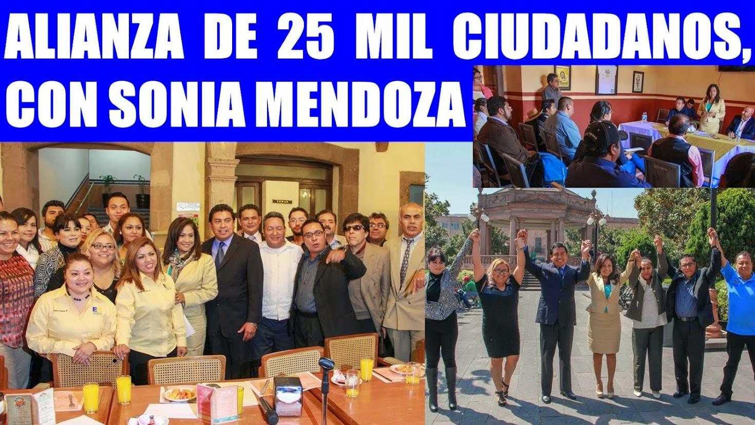 """SONIA MENDOZA: """"EL MEJOR DE LOS CAMINOS""""......."""