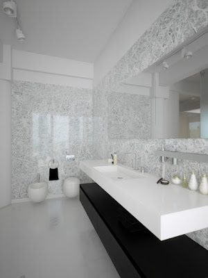 Design de Interiores Preto E  Branco