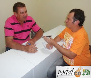 Entrevista com o Vice-Prefeito e Presidente da Colônia de Pescadores Z-53 de Campo Grande/RN