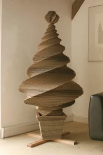 Reclaimed Cardboard Tree