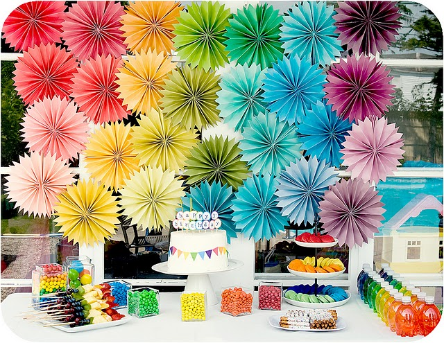 Paper Rosette Party Decorations [DIY Party Decorations]