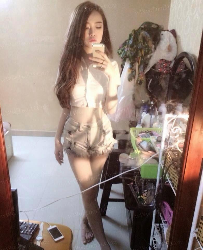 Ảnh gái xinh Ngọc Lena trắng trẻo ngon lắm đây! 14