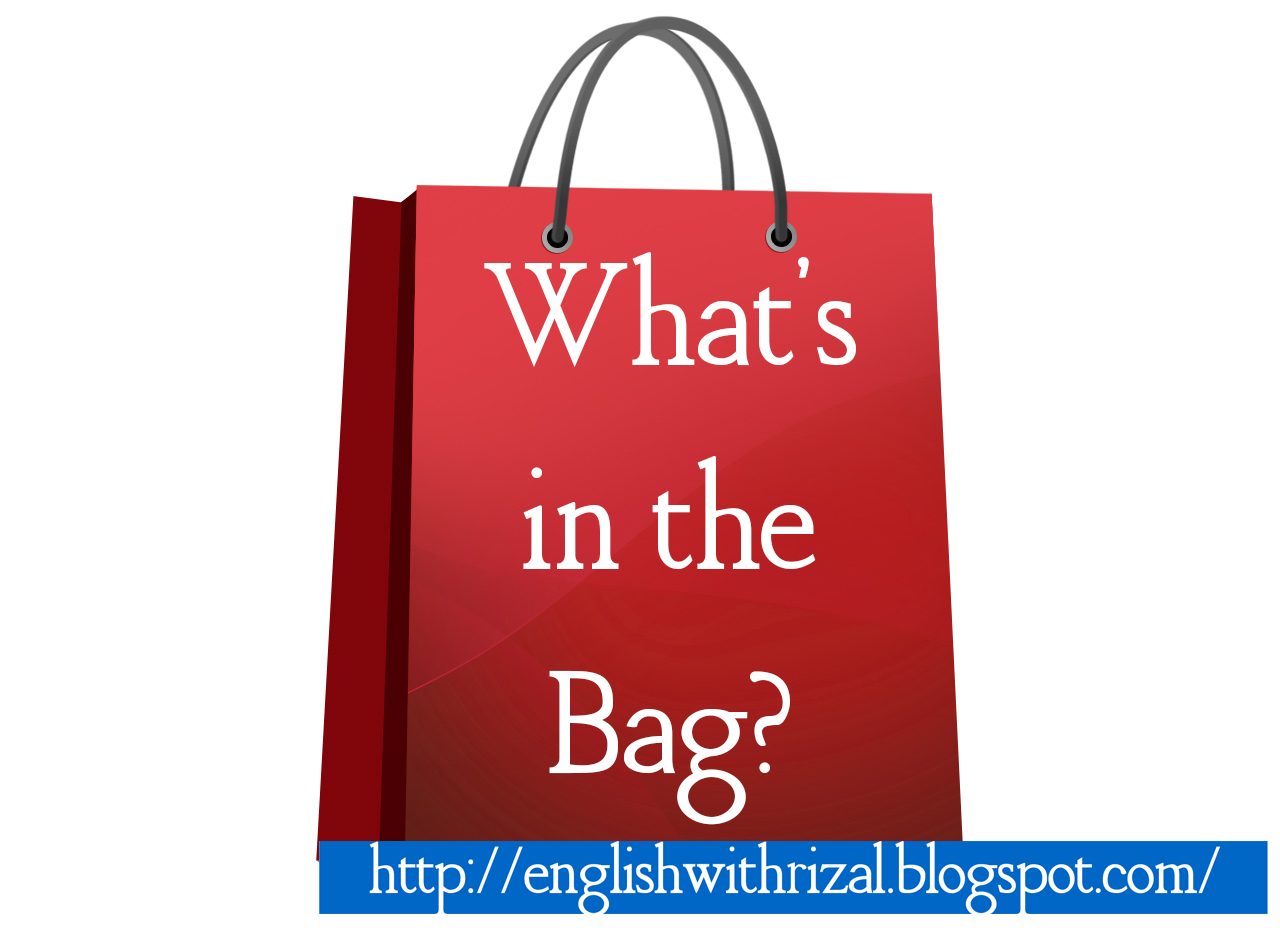 Grocery Bag Icon Lesson: what's in the bag?