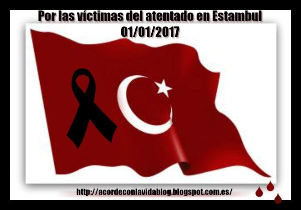 * Con mis condolencias al pueblo turco *