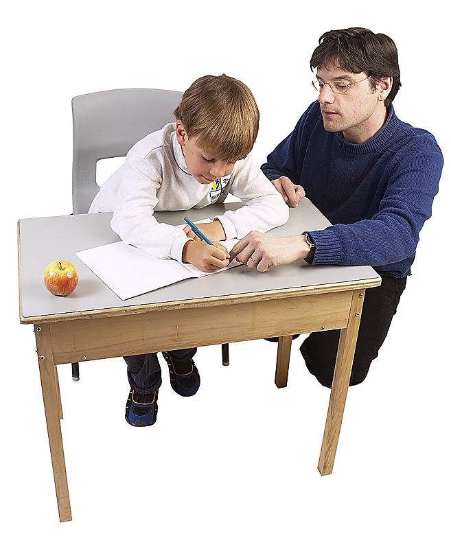 A writing teacher writes me! (inspiring boys to write)