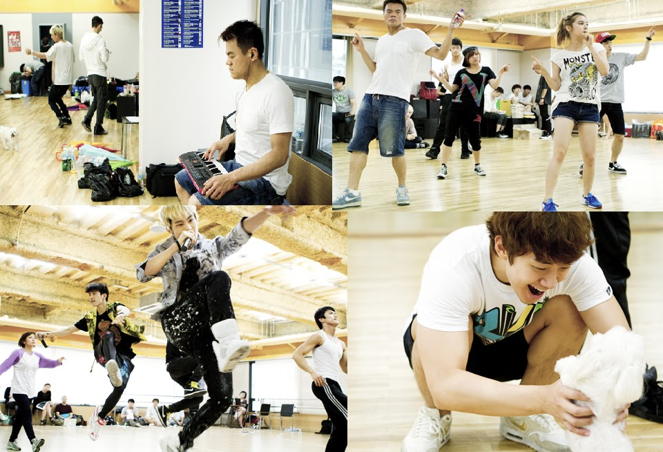 K GongJu: JYP Nation upcoming concert rehearsal