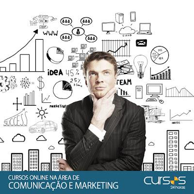 Cursos Online na área de Comunicação e Marketing