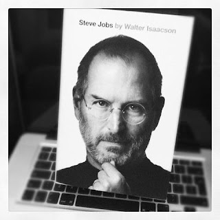 received the Steve Jobs biography for my birthday (thanks, Mat!!) a ...