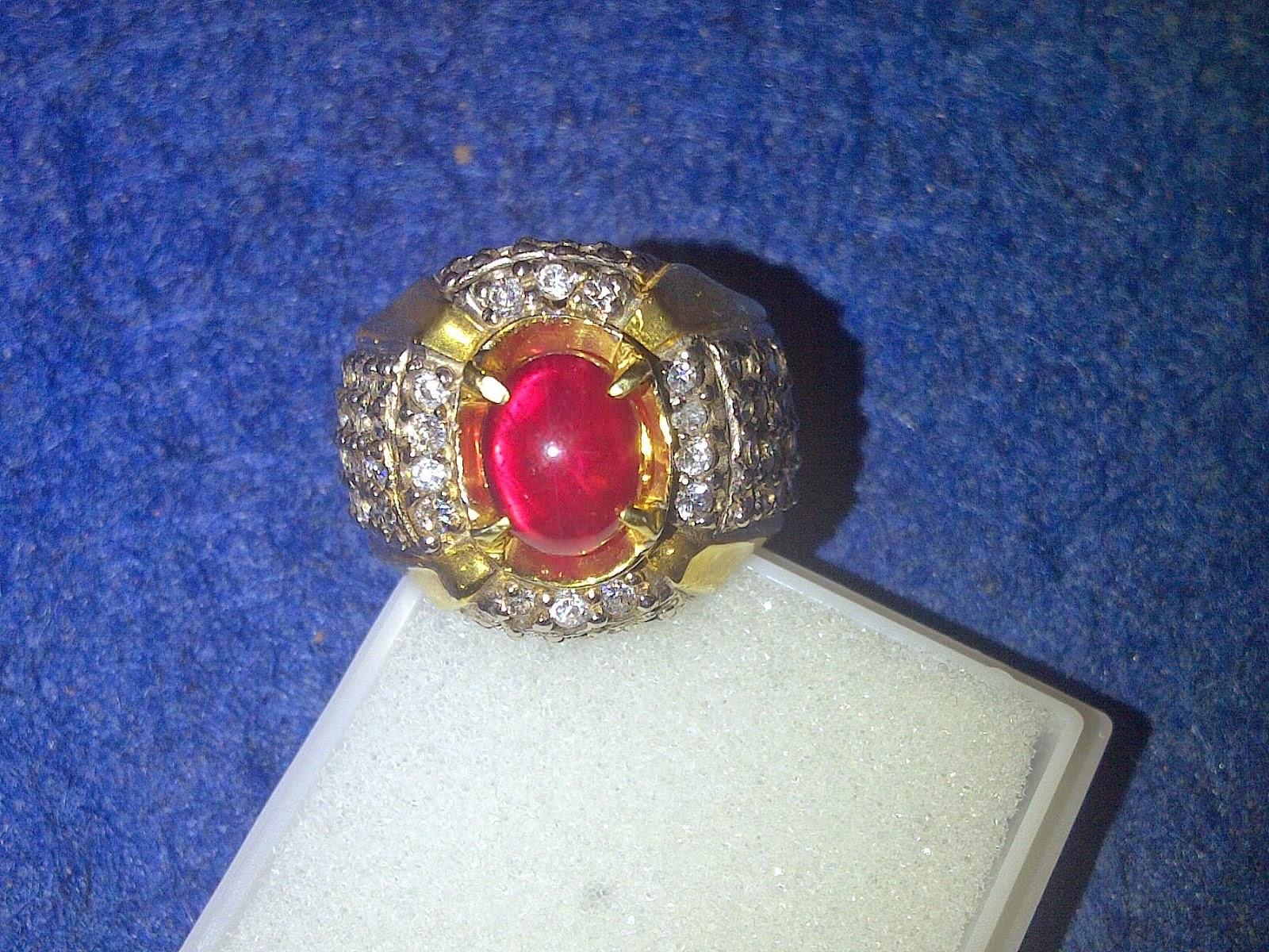 Khasiat mustika batu cincin merah delima