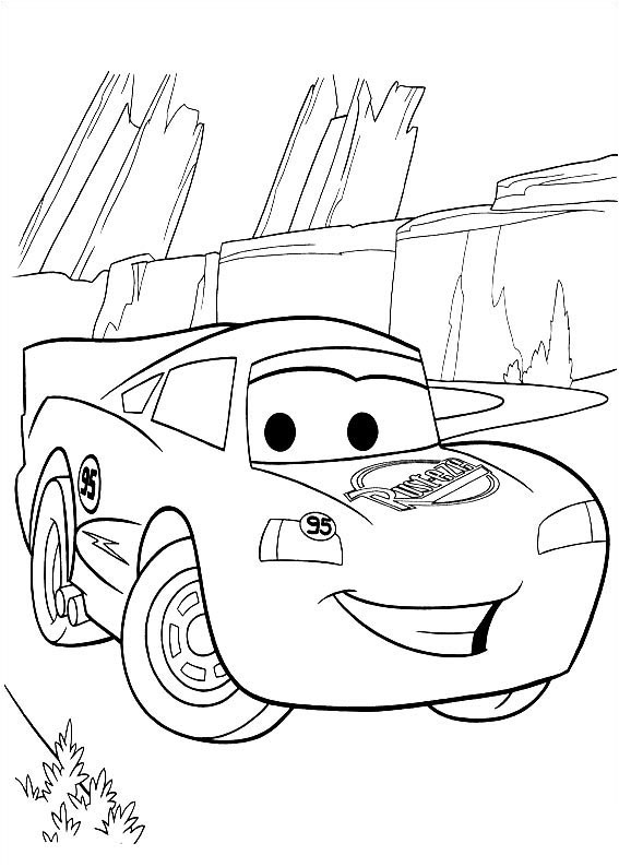 coloring pages for disney cars - photo#5