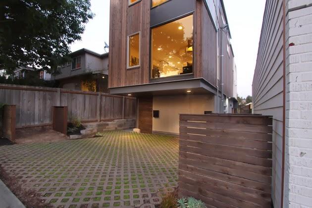 Desain Rumah Kecil Tiga Lantai