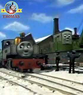 Fearless Freddie the tank engine poor Colin the crane had never attended a Birthday express party