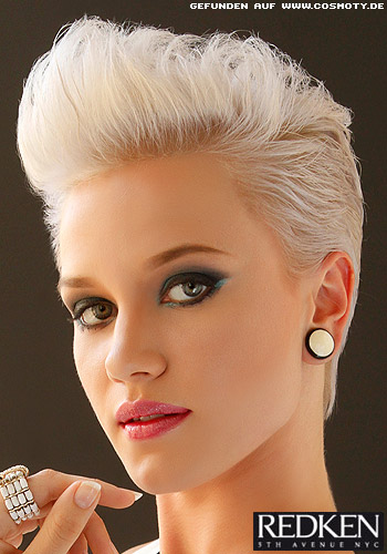 Peinados de noche para corte pixie