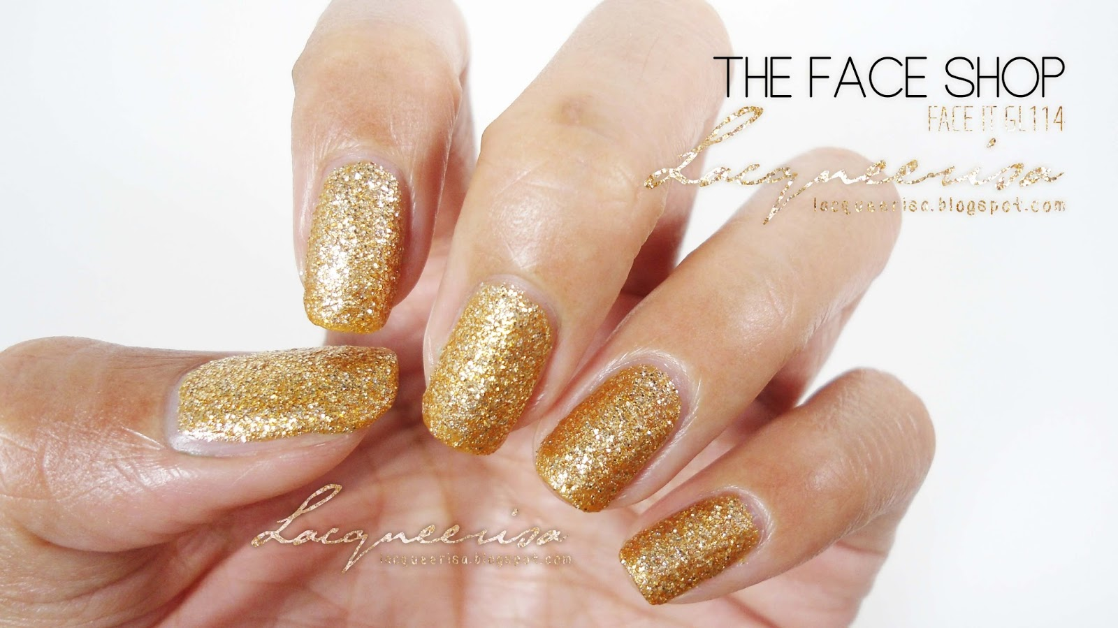 Lacqueerisa: The Face Shop GL114 (without topcoat)