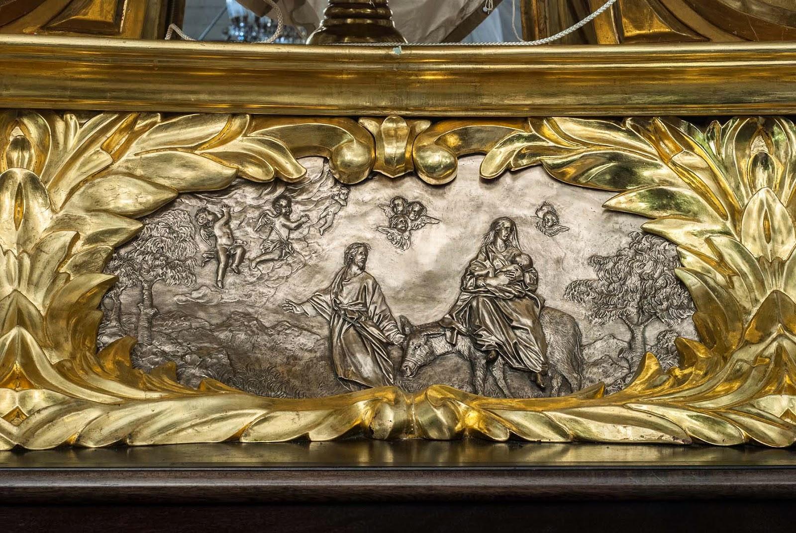 Trono Soledad Semana Santa Cartagena Murcia Arturo Serra escultura 2