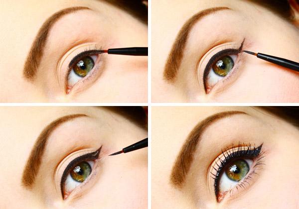 L 39 eye liner pour les nulles tutos astuces beautylicieuse - Comment mettre de l eye liner ...