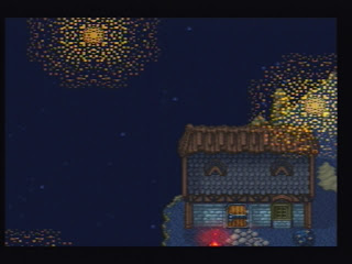 This is one of the prettiest 16-bit Dragon Quests, but these are not the best 16-bit fireworks ever.