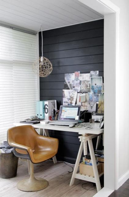 oficina pequeña decorada