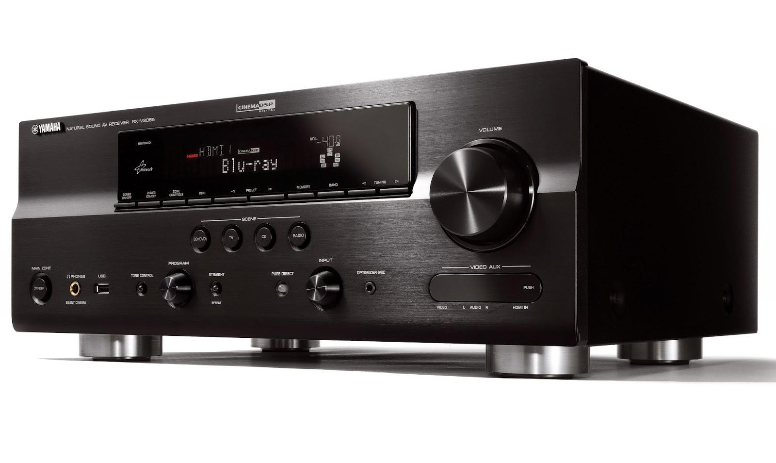 yamaha rx v2065 av network receiver audiobaza. Black Bedroom Furniture Sets. Home Design Ideas
