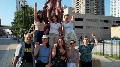 GEM/MORE Teachers in Chicago, July, 2011