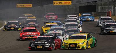 DTM 2012 Nurburgring : Audi termine deuxième