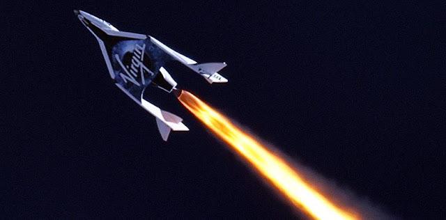 SpaceShipTwo. Credit: Virgin Galactic